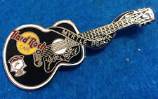 MYRTLE BEACH ELVIS PRESLEY DEAD ROCKER ACOUSTIC GUITAR SERIES Hard Rock Cafe PIN