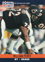 William Perry 1990 Pro Set #455 Chicago Bears football card