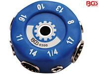 BGS 8398 Gear Lock Universal Steckschlüssel Multi-Einsatz Nuss Zoll + mm
