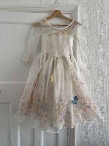 LIMITED EDITION Disney Store RARE Deluxe Cinderella Princess Wedding Dress 5-6