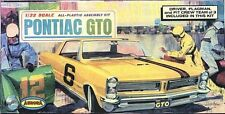 1960s AURORA Pontiac GTO model box magnet - new!