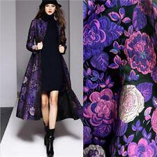 Jacquard Brocade Fabric for Dress Skirt Vest Jacket Diy Material Cloth