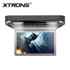 "13.3"" HD Car Roof Monitor Flip Down DVD Player Overhead 1080P Video AUX/AV/FM/IR"