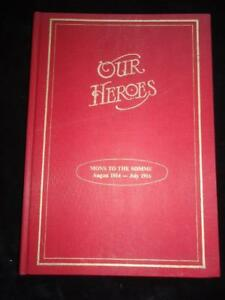 Our Heroes Irish Regiments & Officers WWI Photos & Biographical Notes 1914-16