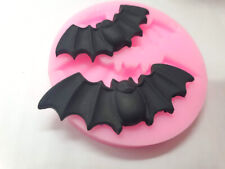 Silicone Mould bat bats Halloween chocolate clay wax soap resin sugarcraft