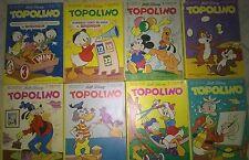 Lotto 8 Topolini 1123 1124 1126 1127 1128 1129 1130 1135 - COMPONI IL TUO LOTTO!