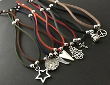 Bracelet Anklet Heart Hamsa Hand Star Coin Wing Cross Buddha Peace Sign Boho