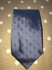 Burberry Silk Tie Blue Good Condition