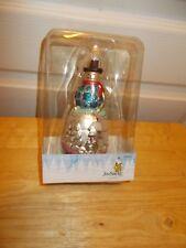 Jim Shore Holiday Ornament: DASHAWAY Snowman 2012