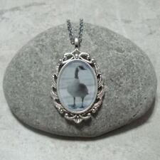 Canada Goose Pendant Necklace Jewelry Antique Silver