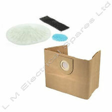10 x Vacuum Cleaner Dust Bags & Filter For Vax Pet Vax 6141 pet Vax 6140