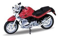BMW R1150R Rojo, Welly Motocicleta Modelo 1:18