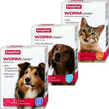 More details for beaphar wormclear for worming tablets for cats, small dogs & large dogs
