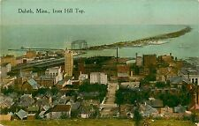 Minnesota, MN, Duluth, From Hill Top 1910's Postcard