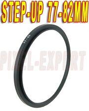 ANELLO ADATTATORE STEP-UP 77-82MM RING ADAPTER OBIETTIVO NIKON 24-70MM 12-24MM