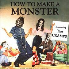 THE CRAMPS - How To Make A Monster - CD ** Brand New **