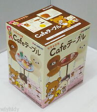 Dollhouse Miniatures San-X Rilakkuma Cafe Table & Chairs Set - Re-ment , h#4