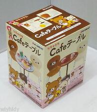 Dollhouse Miniatures San-X Rilakkuma Cafe Table & Chairs Set - Re-ment , hok