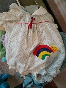 Baby Outfit With Rainbow