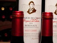 12 Flaschen 2011er Marquis de Chasse, Vierfach (!) prämierter Top-Bordeaux