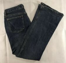 Gap Ultra Low Rise Stretch Women's Bootcut Jeans Size 8 30/30 Embellished Pocket