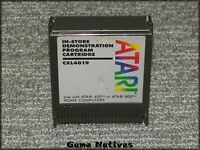 In-Store Demostration Program Cartridge CXL4019 - Atari 400 800 - SHIPS FREE!