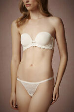 Simone Perele Bienvenue Plunge Strapless Bra Ivory Bridal Size 32B NWT $89