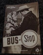 BUS STOP German movie program '56 different images of Marilyn Monroe!