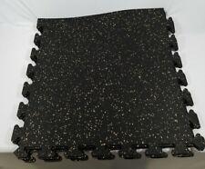 EZ Flex Interlocking Recycled Rubber Floor Tiles 4 Tiles 24