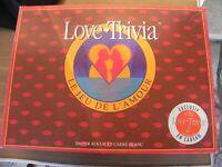 ancien jeu de société vintage Love trivia complet