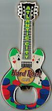 Hard Rock Cafe ATLANTIC CITY City Guitar Bottle Opener Magnet -RARE