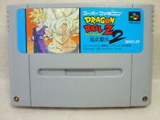 Super Famicom DRAGON BALL Z Super Butoden 2 Nintendo Cartridge Only sfc