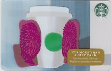 Starbucks Fluffy Red Mittens Holding Coffee Cup Holiday Winter 2016 Gift Card