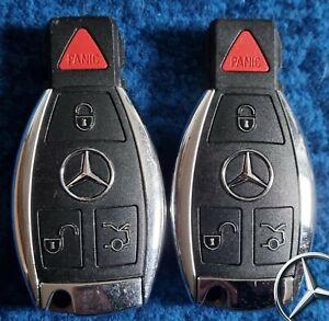 Two Mercedes benz Smart key fob E220 E250 E200 A180 C E S Class  USA 315 mhz