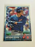 2015 Topps Baseball Base Card #47 - Anthony Rizzo - Chicago Cubs