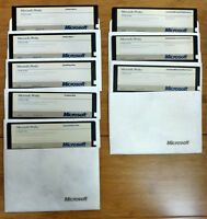 VINTAGE MICROSOFT WORKS VERSION 1.05 Floppy Disks