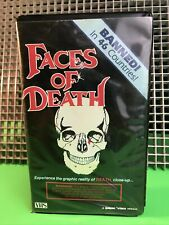 FACES OF D-VHS•Gorgon Video Clamshell•1st Release•Mondo•Shockumentary•RARE•