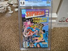 Daring New Adventures of Supergirl 2 cgc 9.8 DC 1982 1st appearance of Decay +++