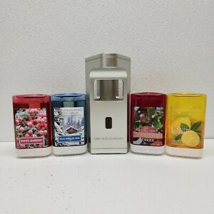 Bath & Body Works Smart Soap Dispenser Touch Free Hand Wash with 4 refills READ!