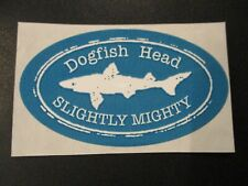 DOGFISH HEAD Slightly Mighty STICKER decal craft beer dog fish brewing brewery