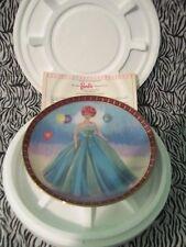 """1963 Barbie """"Senior Prom"""" Trimmed in 24kt. Gold Porcelain Collector Plate"""