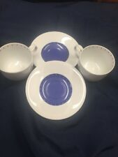 2 Sets Of Dansk DITTO BLUE Cup & Saucers 99845