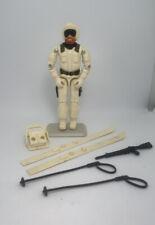 1983 GI Joe Snow Job action Figure Complete W/Gun Helmet Backpack Skis Poles