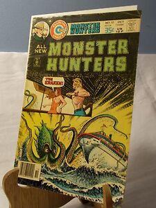 MONSTER HUNTERS # 10 ART WORK STEVE DITKO ARTIST EARLY SPIDER-MAN CHARLTON 1976