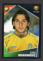 RARE ZLATAN IBRAHIMOVIC EURO 2004 STICKER #197 SWEDEN / SVERIGE - EURO 2004