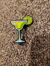 Martini Glass With Lime Salt Alcohol Enamel Pin Lapel Beer Bartender Bar