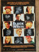 Plakat Schwarzer Und White James Toback Robert Downey Gaby Hoffmann 40x60cm