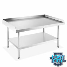 Open Box Stainless Steel 48x30 Nsf Restaurant Equipment Stand Grill Table