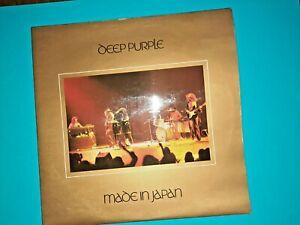 "Deep Purple - "" Made in Japan ""  Original 1972 2 x LP - 1st Pressing"