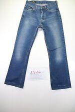 Lee Bootcut (Cod. J814) Tg42 W28 L30 jeans used High Waist vintage Flared